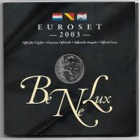Coffret Bu Benelux 2003 - sortie de blister - Euroset