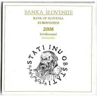 Coffret Bu Slovénie 2008 - sortie de blister - Eurosystem
