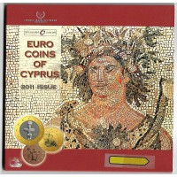 Coffret Bu Chypre 2011 - Sans Blister - Euro Coins of Cyprus