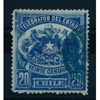 Chili - Télégraphe 3 - Oblitéré