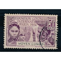 Colonie Française Congo - Numéro 110 - Oblitéré