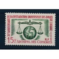 Comores - Numéro 28 - Neuf avec Charnière