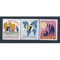 Suède - Numéro 1333 à 1335 - Neuf sans Charnières
