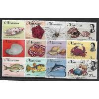 Timbre Thématique du Monde - Poisson - Mauritius - (T229)