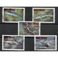 Timbre Thématique du Monde - Requin - Vietnam - (T290)