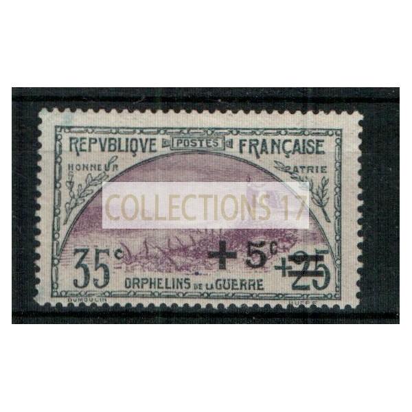 France - Numéro 166 - neuf sans charnière