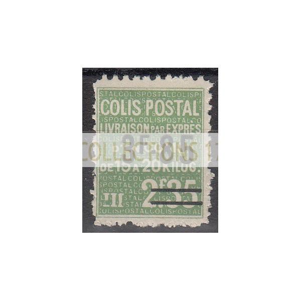 France Colis Postal - Numéro 154 - Neuf avec Charnières