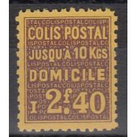 France Colis Postal - Numéro 165 - Neuf avec Charnières