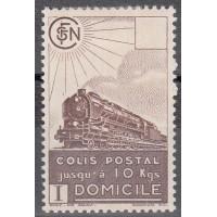 France Colis Postal - Numéro 174 - Neuf avec Charnières