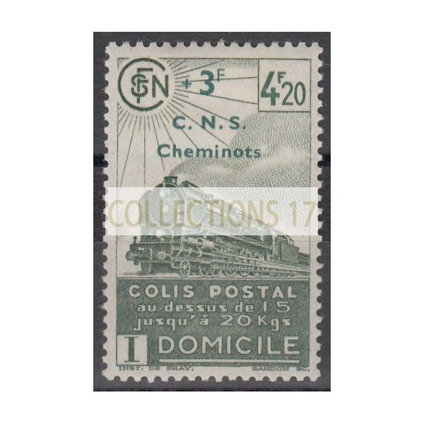 France Colis Postal - Numéro 193 - Neuf avec Charnières