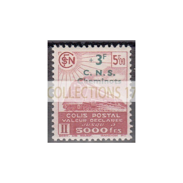 France Colis Postal - Numéro 195 - Neuf avec Charnières