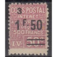 France Colis Postal - Numéro 74 - Neuf avec Charnières