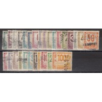 France Colis Postal - Numéro 1 à 26 - Oblitéré