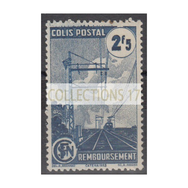 France Colis Postal - Numéro 218 A - Neuf avec Charnières