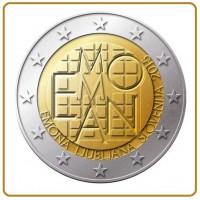 2 €uros Slovénie EMMONA 2015 (UNC Sortie de Rouleau)