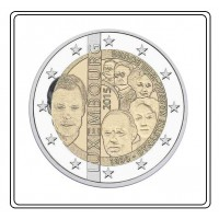 2 €uros Luxembourg 2015 (Dynastie) (UNC Sortie de Rouleau)  Qualité : Neuve sortie de Rouleau