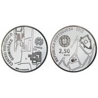 2.50 Euros Portugal Centre Guimares 2012 - UNC sortie de Rouleau