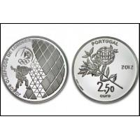 2.50 Euros Portugal J.O de Londres 2012 - UNC sortie de Rouleau