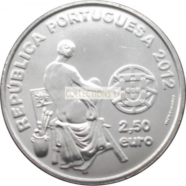 2.50 Euros PortugalJosé Malhoa 1855-1933  2012 - UNC sortie de Rouleau