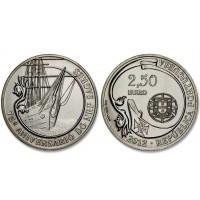 2.50 Euros Portugal Sagres  2012 - UNC sortie de Rouleau