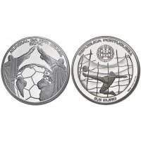 2.50 Euros Portugal Bresil 2014 - UNC sortie de Rouleau