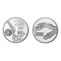 2.50 Euros Portugal Coimbra 2014 - UNC sortie de Rouleau