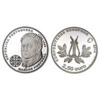 2.50 Euros Portugal Marcos 2014 - UNC sortie de Rouleau
