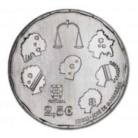 2.50 Euros Portugal Justice 2015 - UNC sortie de Rouleau