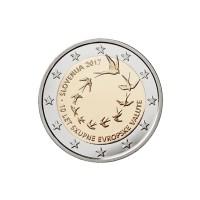 2 €uros Slovenie 2017 (UNC Sortie de Rouleau)