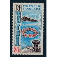 Polynésie - Numero PA 15 - Oblitéré