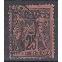 France - Numéro 91 - Oblitéré