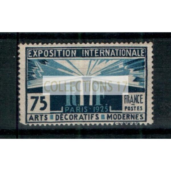France - Numéro 215 - Neuf avec charnière