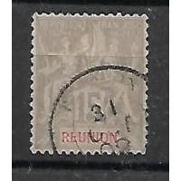 Timbre Reunion Colonie - Numéro 48 - Oblitéré