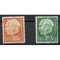 Sarre Colonies - numéro 408 à 409 - Oblitéré