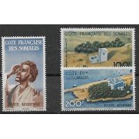 Colonies Cote des Somalis - numéro PA 20 à 22 - Neuf sans Charnières