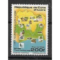 Colonies Cote d'ivoire - numéro 900 J - Neuf sans Charnières