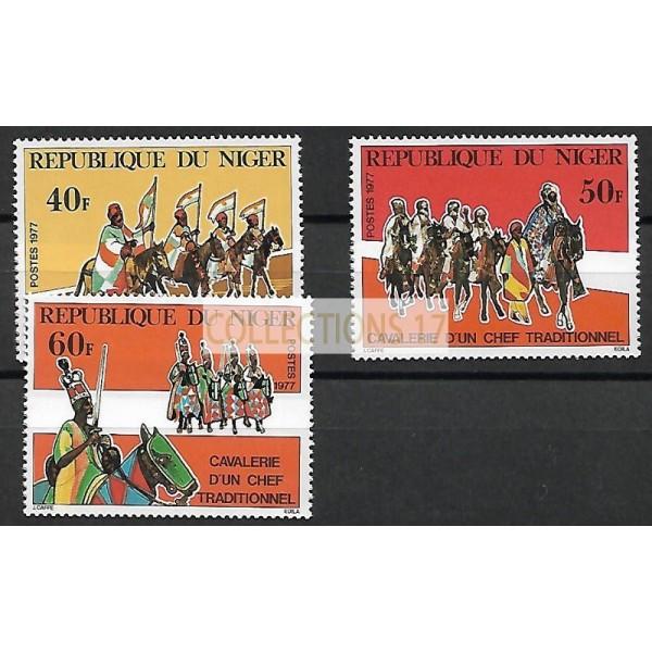 Niger - Numéro 407 à 409 - Neuf sans charnières