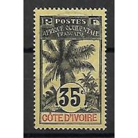 Cote d'ivoire Colonies - Numéro 29 - Oblitéré