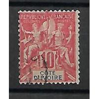 Cote d'ivoire Colonies - Numéro 14 - Oblitéré
