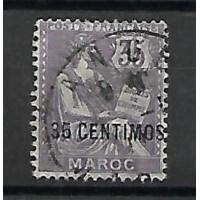 Maroc Colonies - Numéro 24 - Oblitéré