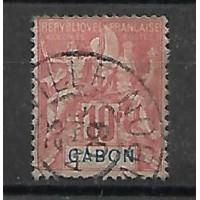 Gabon Colonie - Numéro 20 - Oblitéré