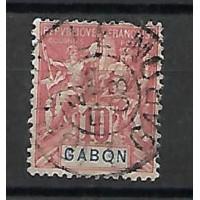 Gabon - Numéro 20 - Oblitéré
