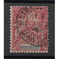 Martinique Colonies - Numéro 41 - Oblitéré