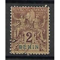 Benin Colonies - Numéro 34 - Oblitéré