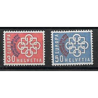 Suisse - Numéro 632 à 633 - Neuf avec Charnières