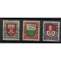 Suisse - Numéro 173 à 175 - Oblitéré