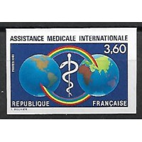 France Non Dentelé - Numéro 2535 - Neuf sans Charnière
