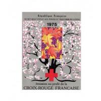 Carnet croix rouge 1975 - Neuf**