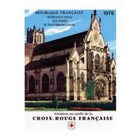 Carnet croix rouge 1976 - Neuf**
