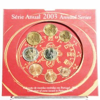 Coffret BU Portugal 2003 Série annuelle